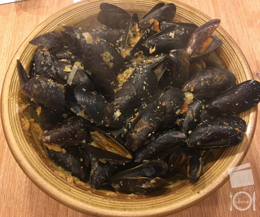 Beer-Steamed Mussels | Flix & Fare