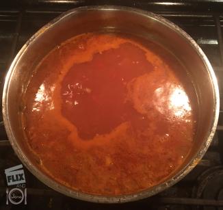 Black Lentil Soup 2